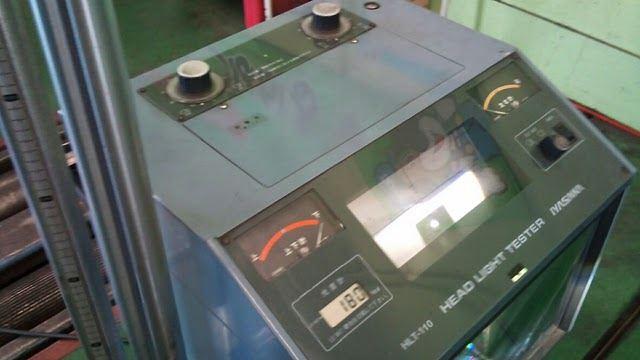 CRーZ 70mmローダウンによるHID光軸調整