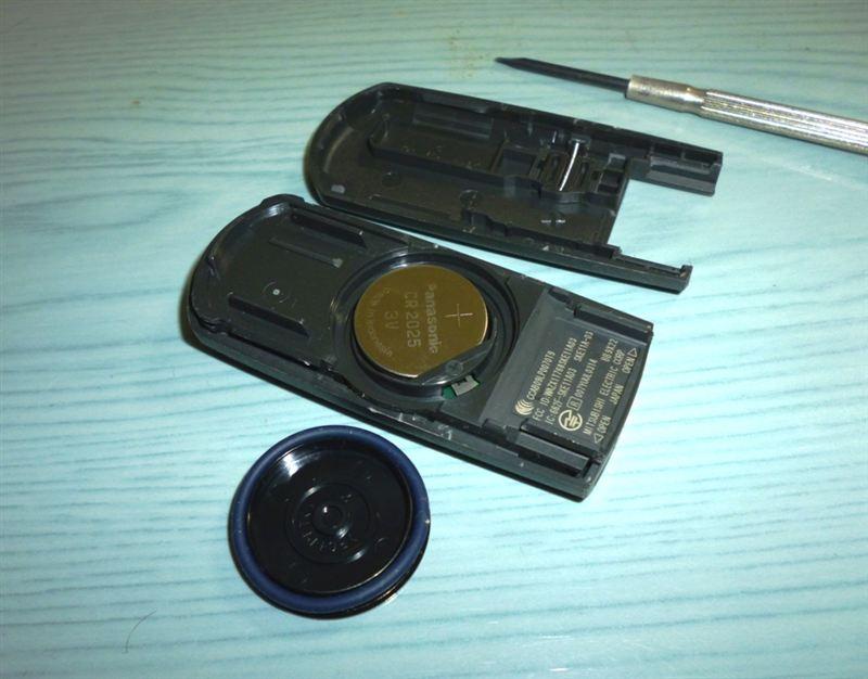 アドバンストキー電池交換