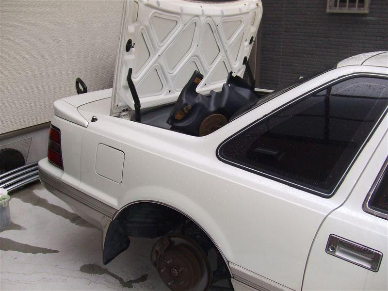 車高調交換Ⅱ (リア)