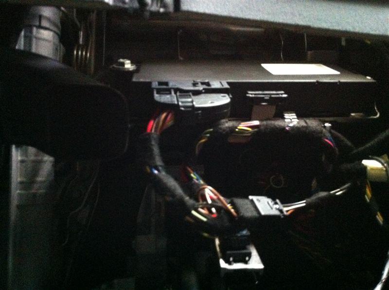 3シリーズ クーペ エアーナビの取付のカスタム手順2