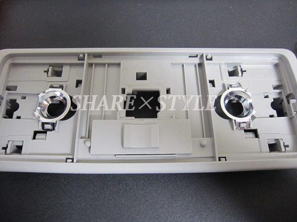 【シェアスタイル】70系ノア・ヴォクシー LEDルームランプ取付 【大型センターランプ】
