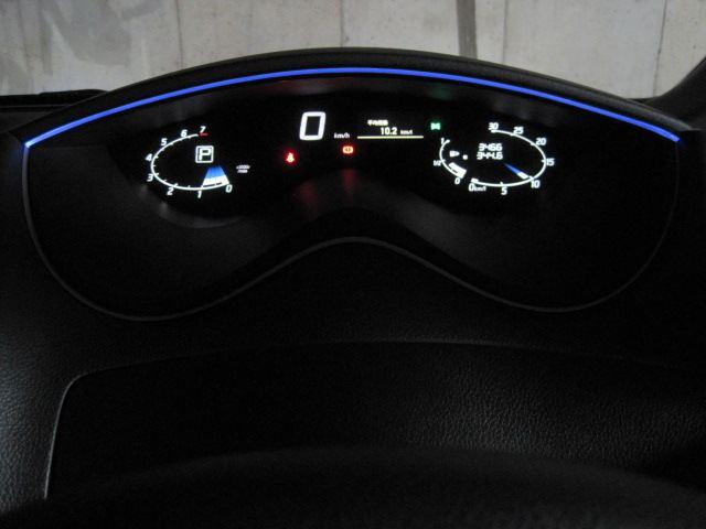 C26 セレナライダー メーターフードイルミ 夜画像