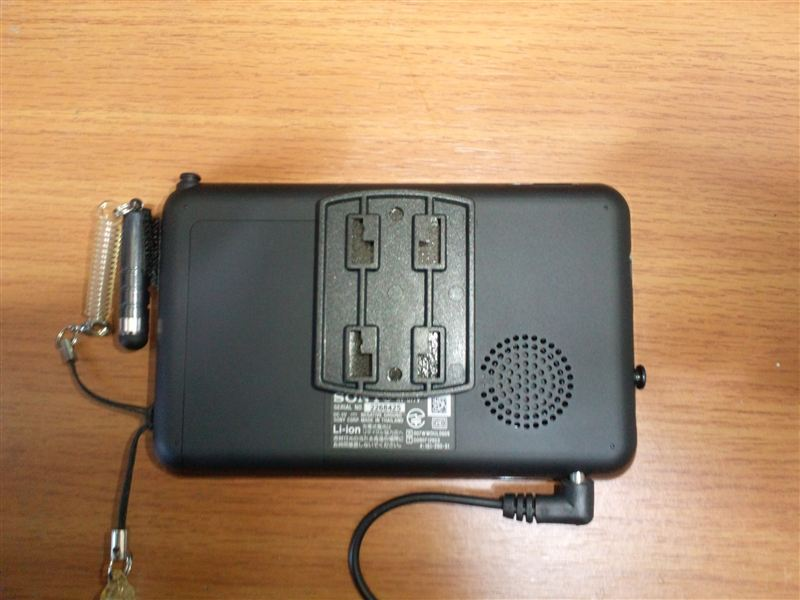 GSX-R600 SONY nav-u77取付用加工?のカスタム手順2