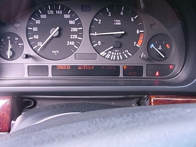 E39イグニッションスイッチ交換