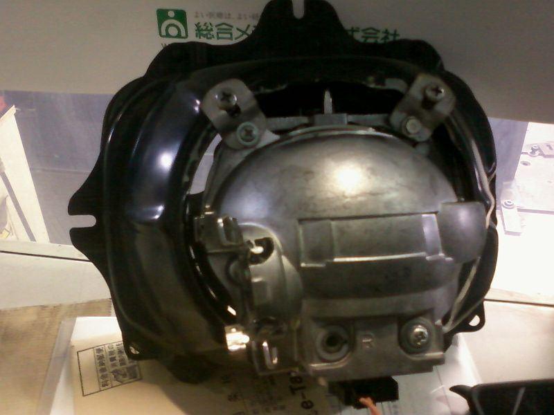 100W バイキセノンプロジェクターランプの製作