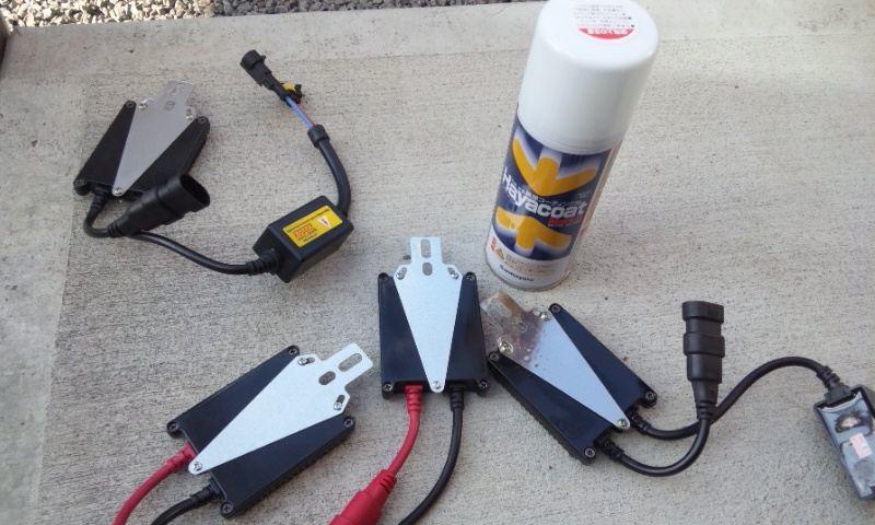 プラド(150系)ヘッドライトHID化作業