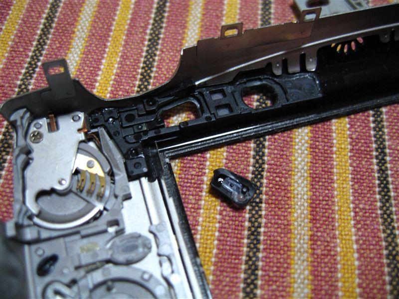 [ジャンク] Canon IXY DIGITAL 800 IS  電源スイッチ修理①