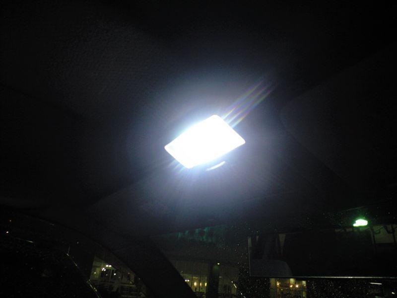 クルーガーV ルームランプ等 LED化のカスタム手順1