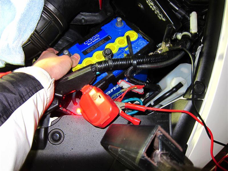 FD2 バッテリー交換 容量UP① 29239km