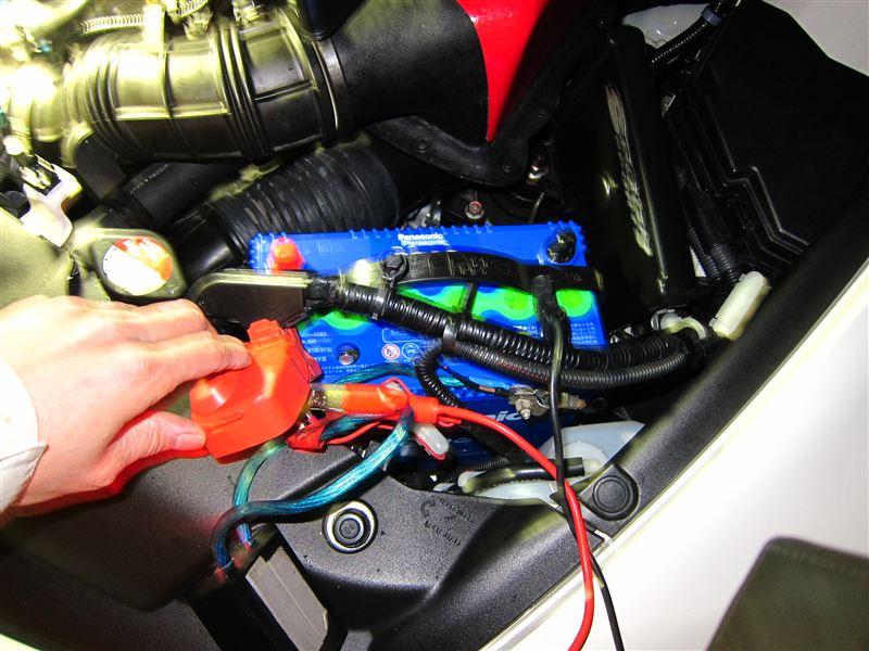FD2 バッテリー交換 容量UP② 29239km