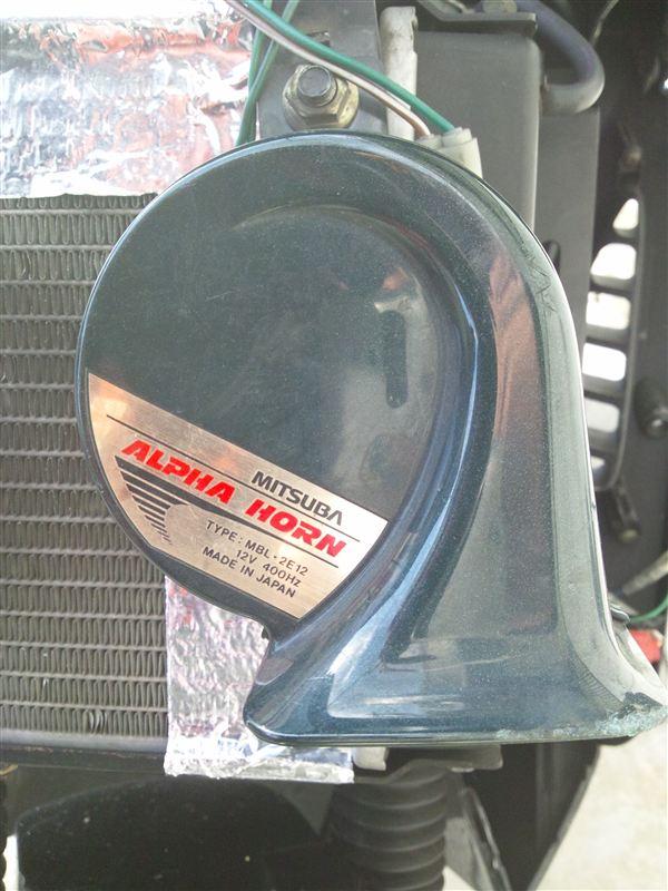 グランドディンク125Z ホーンの交換のカスタム手順1
