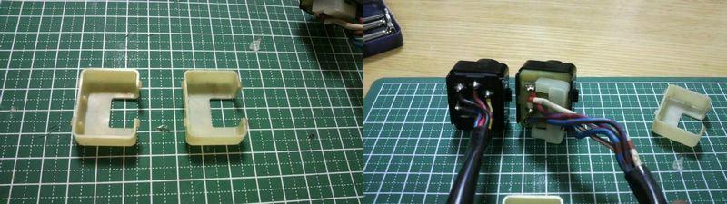 BNR32 小ネタ 助手席P/Wスイッチ修理&照明化