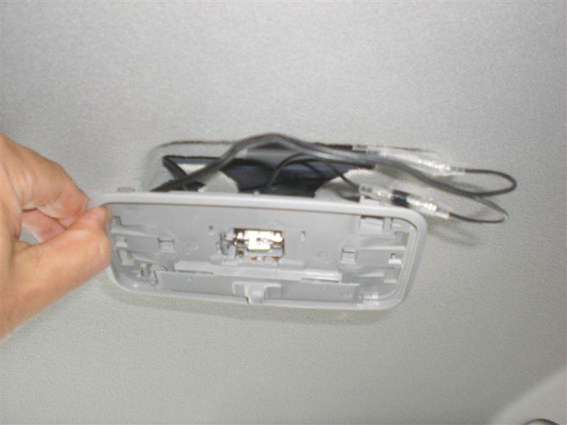 室内灯LED化+ドア連動