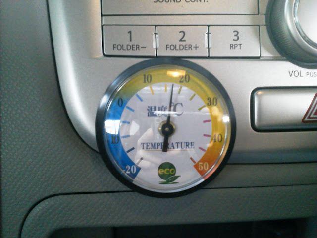 温度計取付け