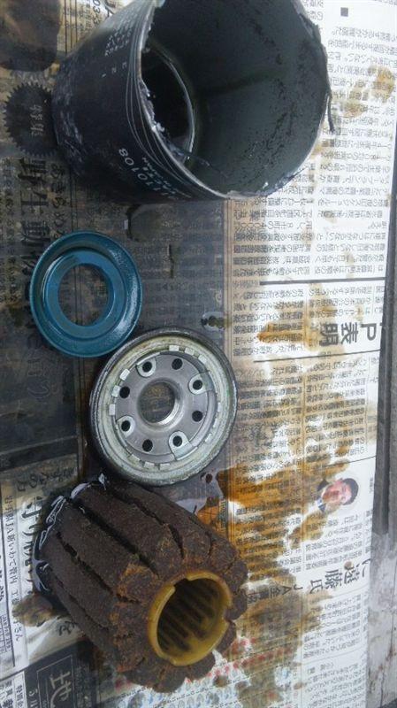 オイルフィルター分解 (ドライブ ジョイ V9111-0108)