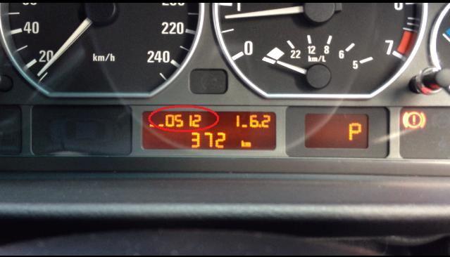 E46 OBC(オンボードコンピュータ)の隠しモード 裏技紹介