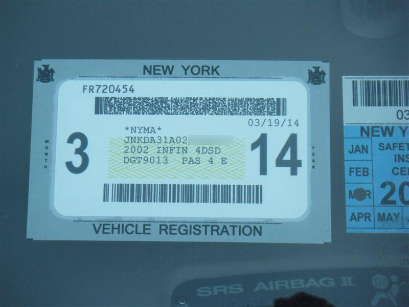 2019 Nys Inspection Sticker Images