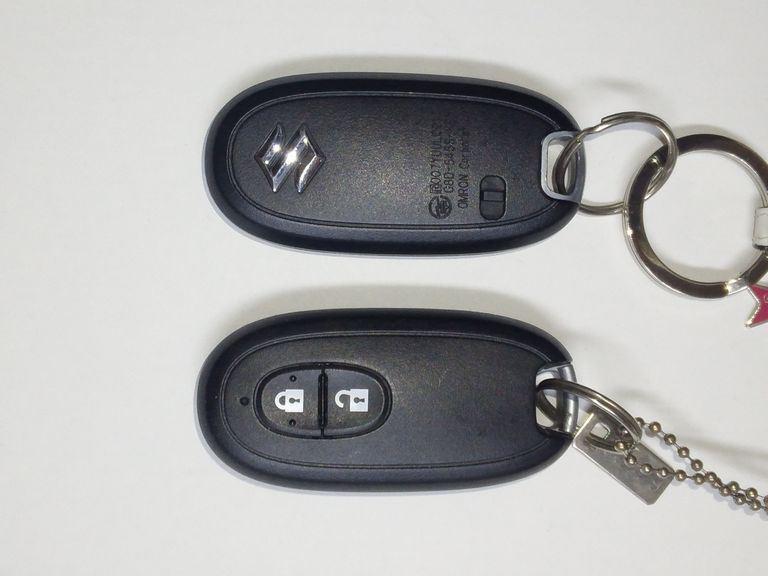 ◆リモコンキー電池交換したのに警告灯が…【MH23S】点灯解除方法
