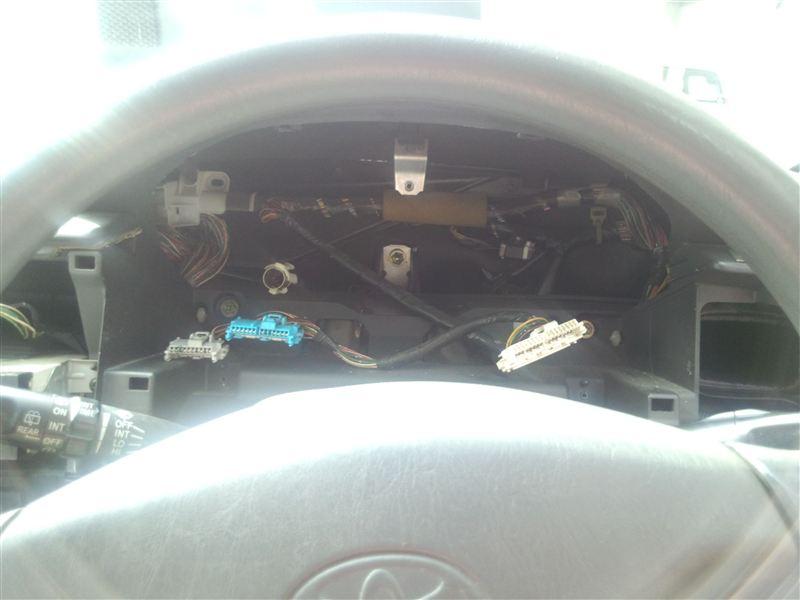 メーター取り外しとLED交換、ついでにカーボン調