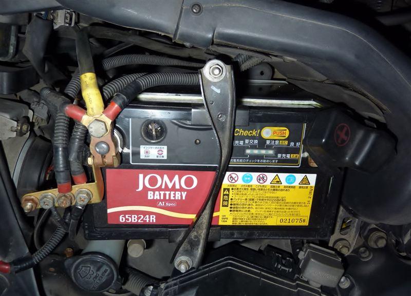 メーター不点灯の修理&バッテリーインシュレータ取り付け