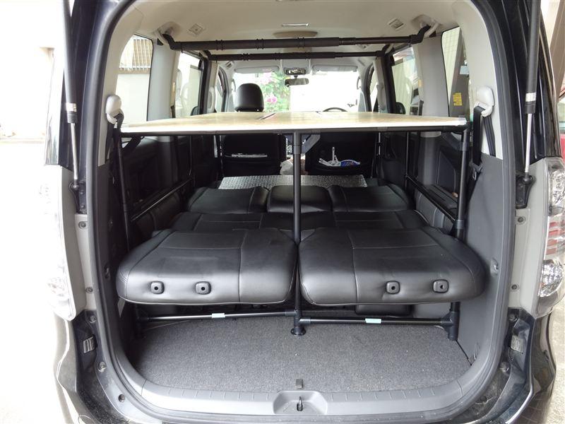 車中泊用ノア2段ベッド