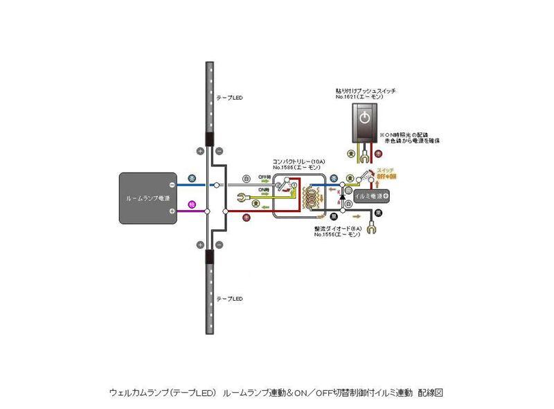 ウェルカムランプ取付 配線編 ホンダ フリード By Cajutom みんカラ