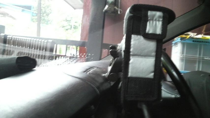 コロナSF オンダッシュ カーナビ+ワンセグチューナー(トランスミッター内蔵コムテックDTM500)のカスタム手順2