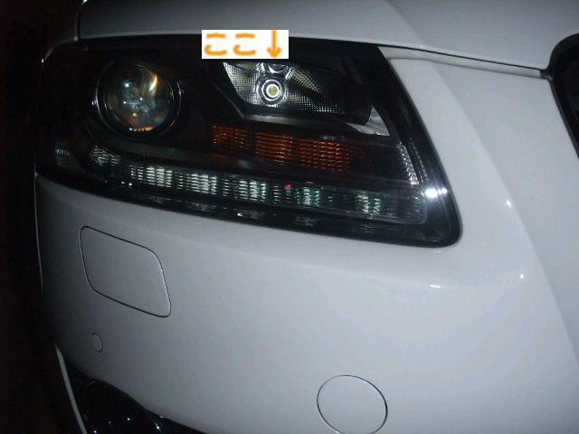 駐車灯LED化