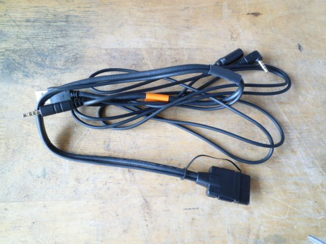 iPod用USB変換ケーブル取り付け
