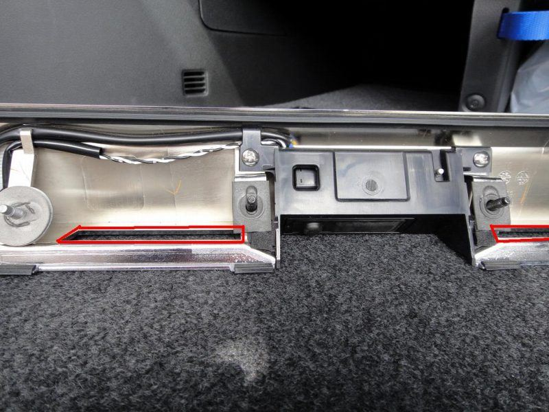 【C26】最強!LEDライセンスランプ製作③取り付け試行錯誤
