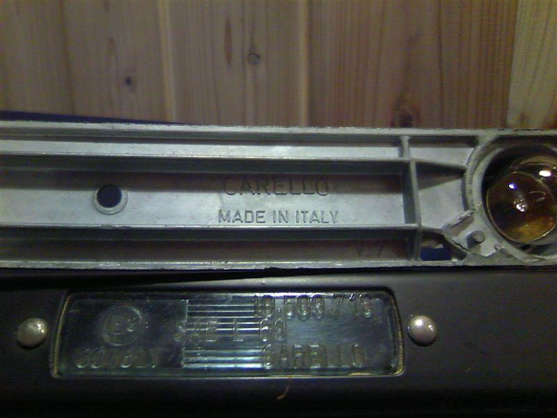 HFR2000 リアナンバー灯のカスタム手順2