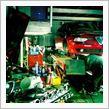 エンジンオイル、ブレーキフルード交換、車高調整