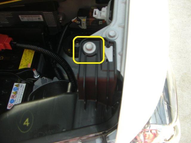 ヘッドライトユニットの外し方①