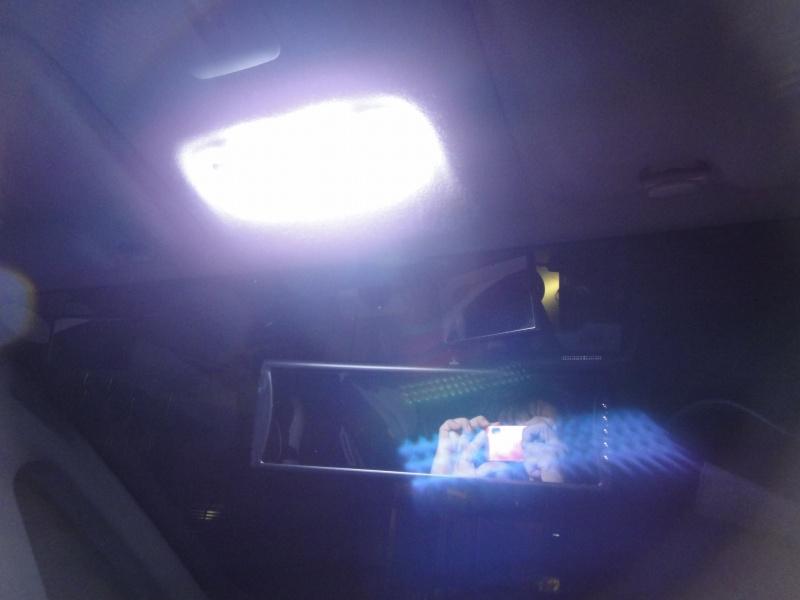 【C26】日亜化学製LEDルームランプ(フロント)製作④