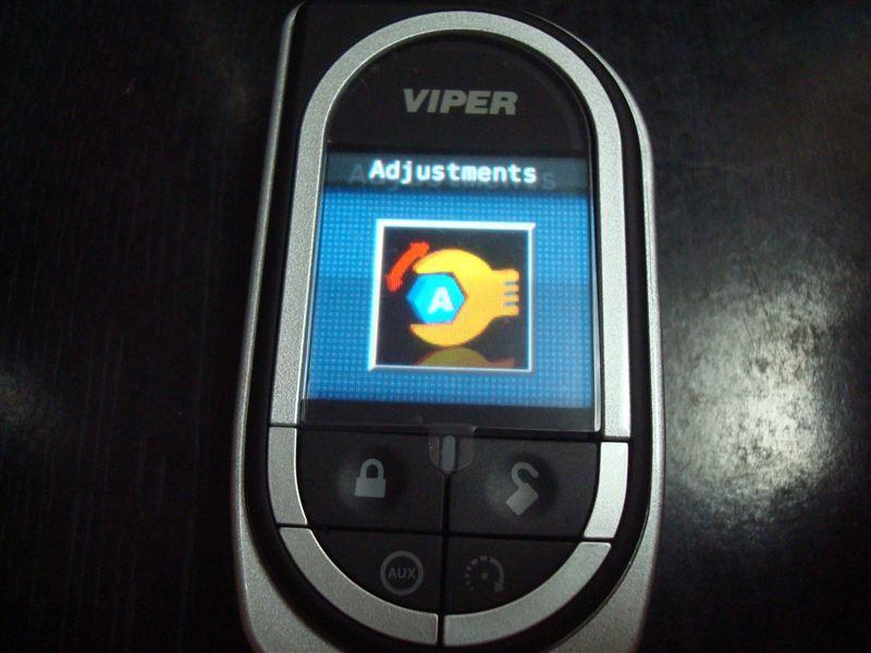 VIPER5902/5904用リモコン7941V追加登録