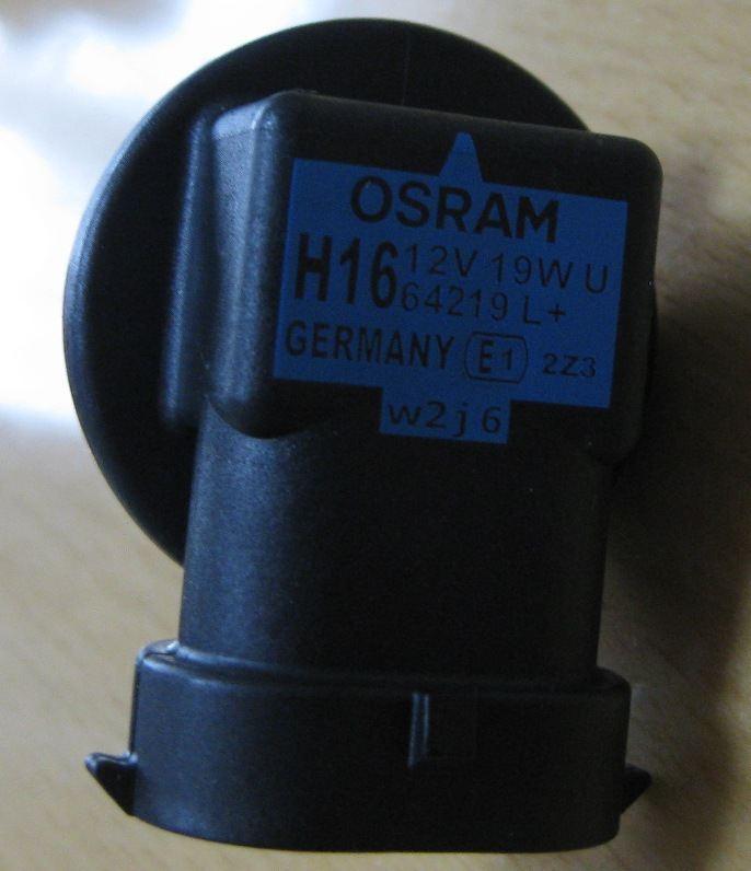 新規格H16バルブのフォグランプをLED化