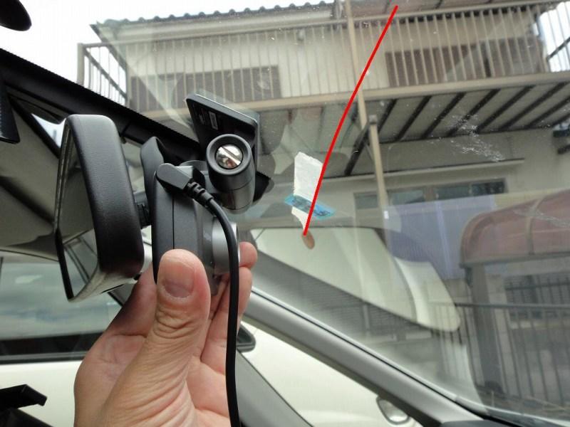 【C26】ドライブレコーダ取り付け(LVR-SD100BK)①