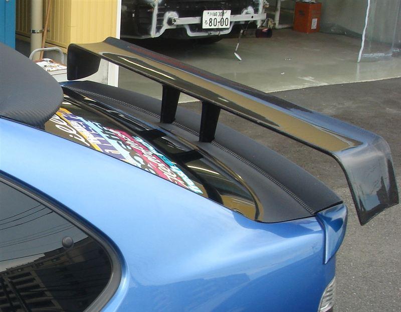 STW/BTCC リアカーボンウイング (通称Tバック!)