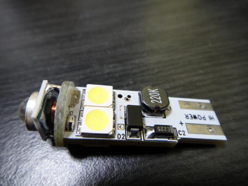 【C26】LEDポジション装着(Cree Q5+5050(6素子)×4個)①