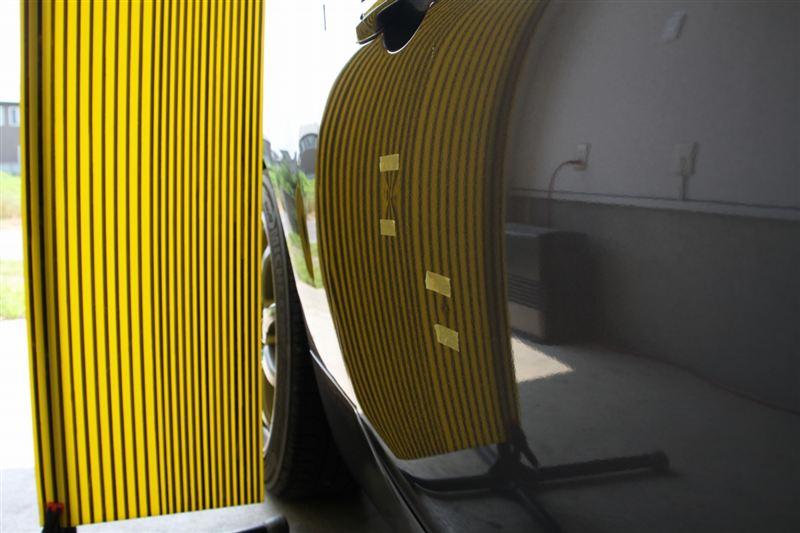 群馬県のデントリペア ライトニングにてドアのヘコミ修理
