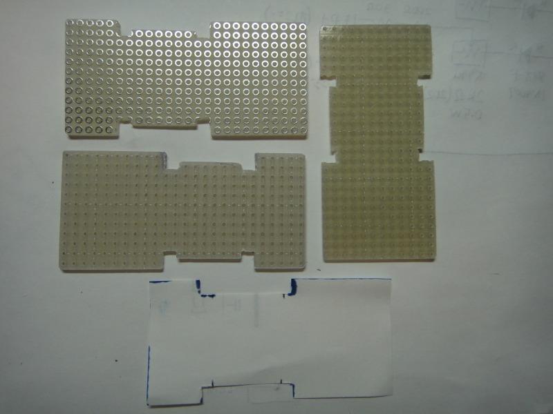 【C26】日亜化学・雷神 LEDルームランプ(2・3列目/ラゲッジランプ)製作①