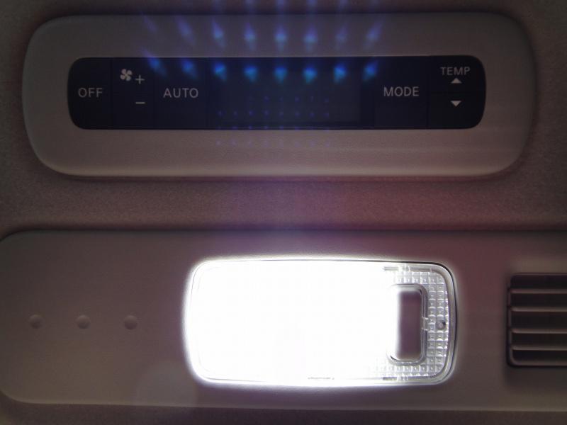 2列目。<br /> 昼間の写真ですが、<br /> こんな感じ。<br /> <br /> 今まで使っていたNSPWR70ASと比べると<br /> 見た目に光り具合が明らかに違います。
