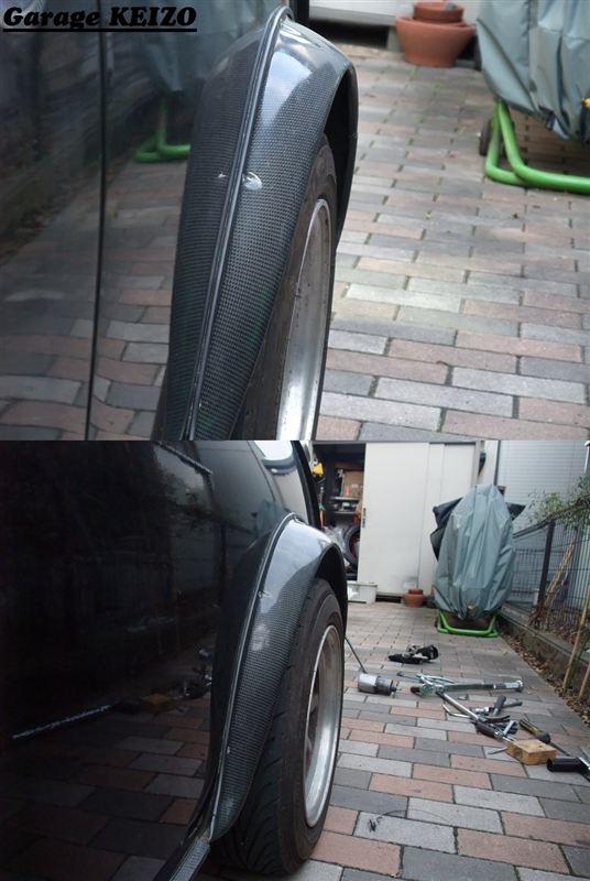 ミニ改造2012) リアタイヤホイールをツライチに!ロングハブボルト化
