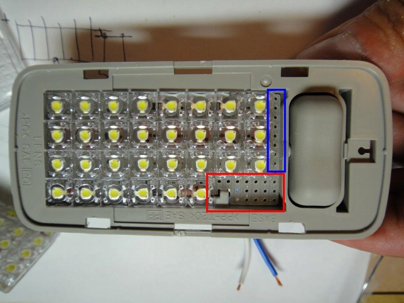 【C26】日亜化学・雷神 LEDルームランプ(2・3列目/ラゲッジランプ)製作⑤