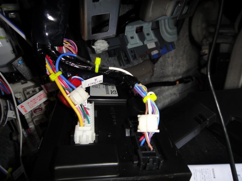 【C26】ラゲッジランプのルームランプ連動化②整流ダイオードの取り付け