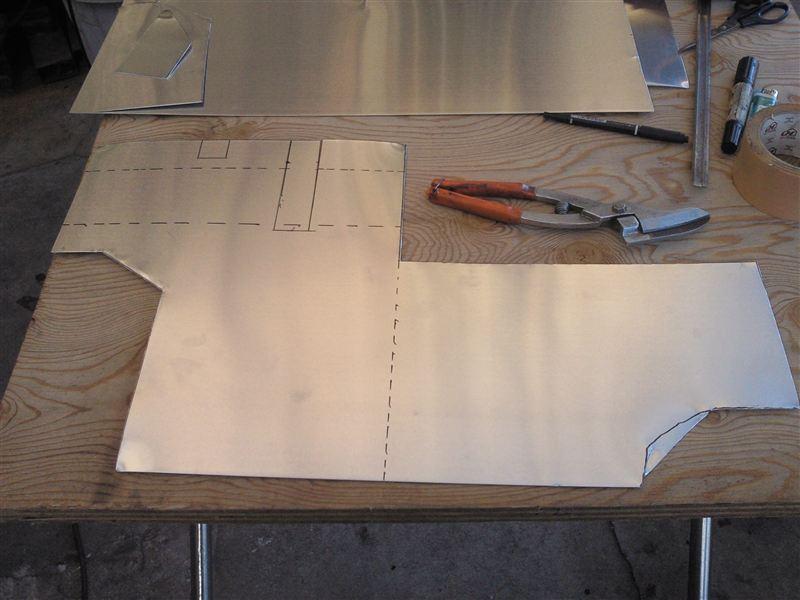 遮熱板製作①