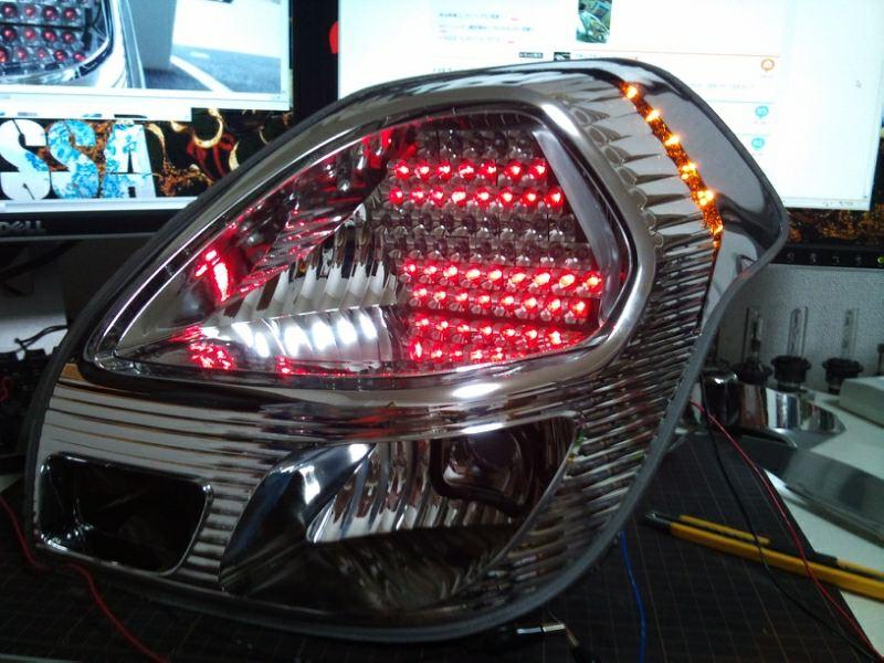 『LEDテールランプ Ver.IRDR』作製