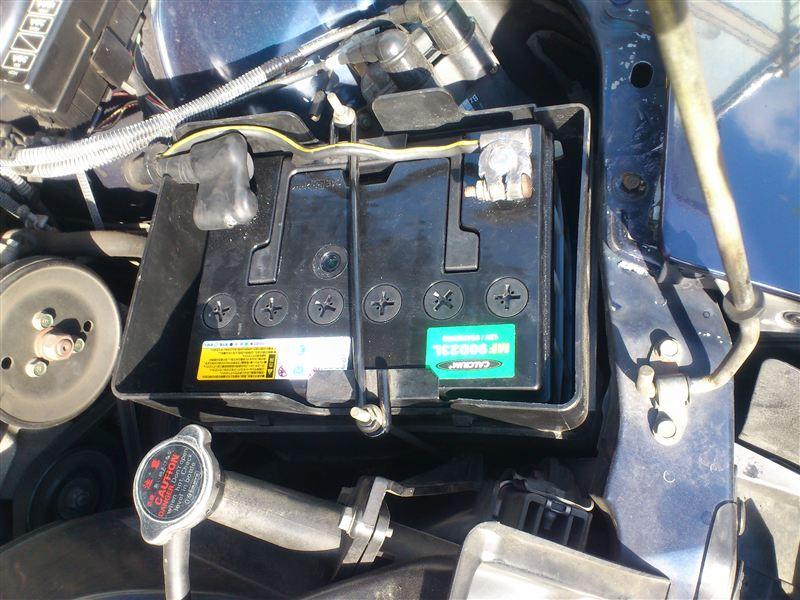 バッテリー交換 100343km