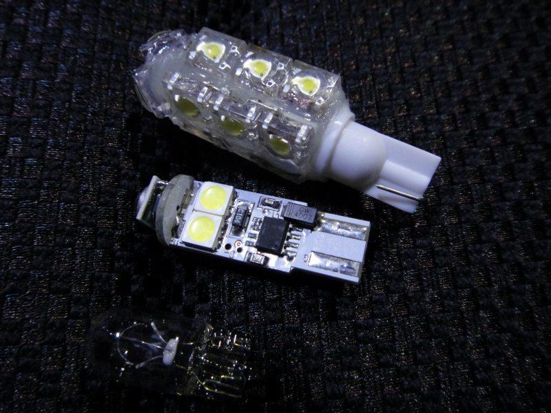【C26】LEDポジション装着(日亜化学 雷神×15発)①