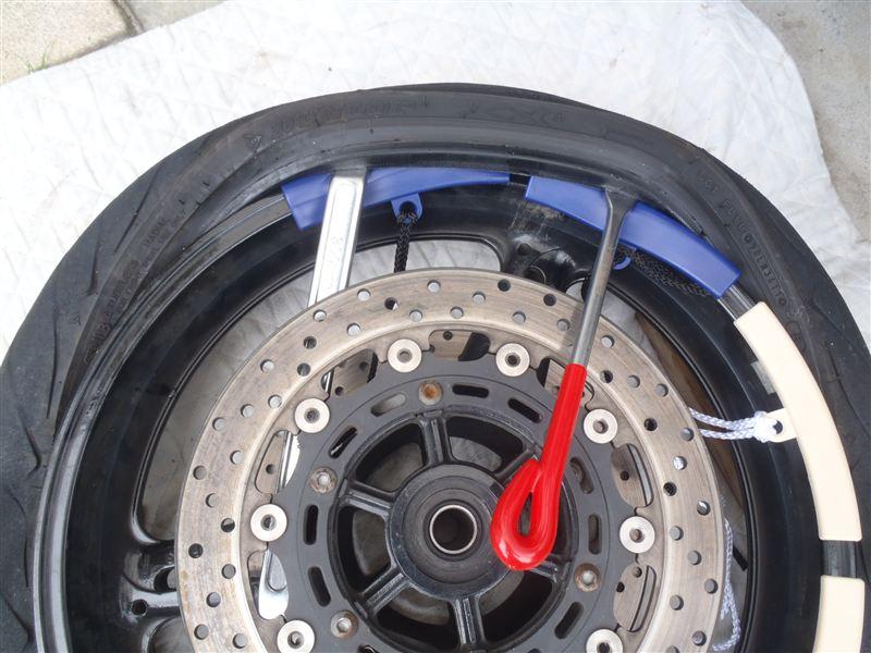タイヤ交換 (手組み編) その1